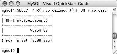 Write a query to count the number of invoices