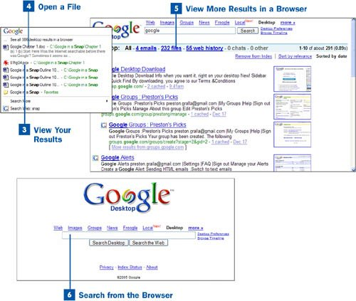 Section 34 Search Your Pc With Google Desktop
