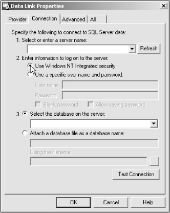 Accessing Data with the Server Explorer